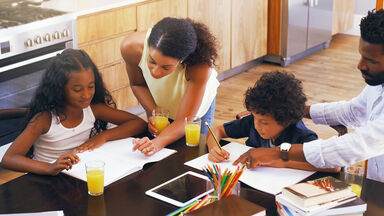 parents helping kids with writing tips