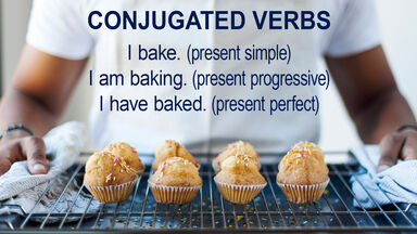 conjugated verb examples