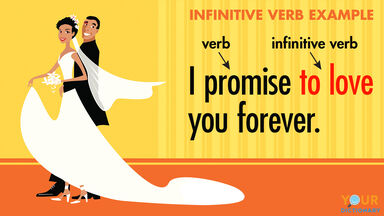 infinitive verb example