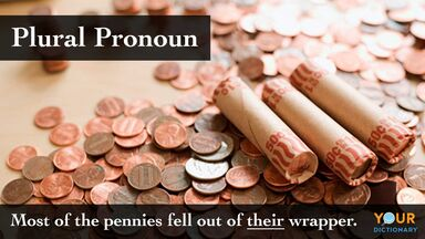 plural pronouns example