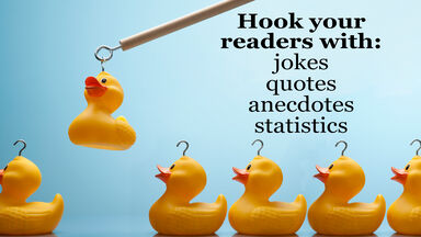 write a great hook for your readers