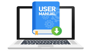 writing a user manual on computer