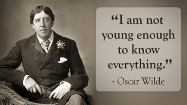Oscar Wilde satire quote