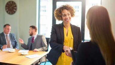 job interview using good grammar