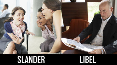 difference between slander and libel