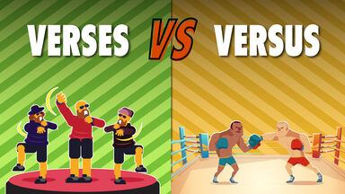 Verses vs Versus Example