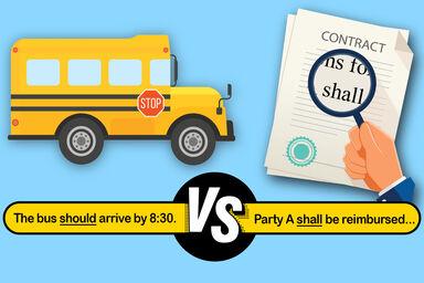 should vs shall