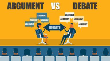 Argument vs Debate Example