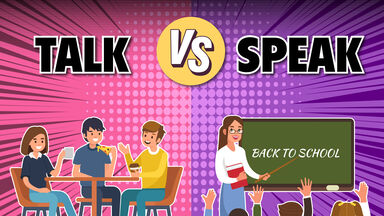 Talk vs Speak Example