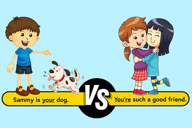 Your dog vs You're a good friend