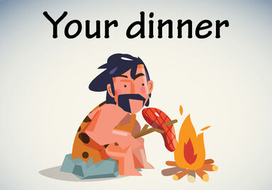 Your dinner vs You're dinner meme