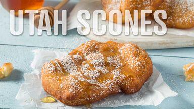 utah scones letter U food