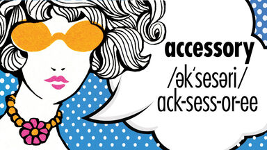 how to pronounce accessory