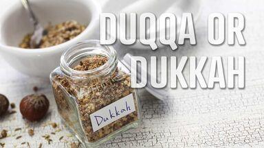 foods that start with D duqqa dukkah