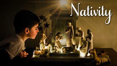 popular Christmas word Nativity