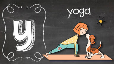 Positive Y word Yoga