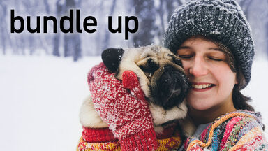 winter words bundle up