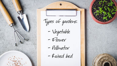 Essay topic list for types of gardens