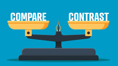Scale of Compare and Contrast Concept