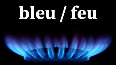 bleu feu French rhyme