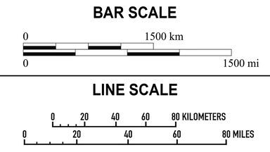 map scale types