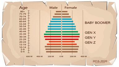 four generation diagram 2016-2020