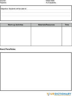 sample lesson plans format