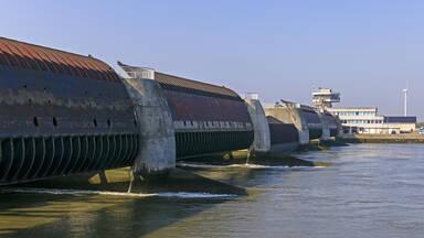 Renewable Ocean energy example Eider Barrage Germany
