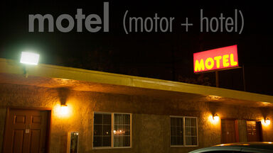 motel portmanteau is motor and hotel