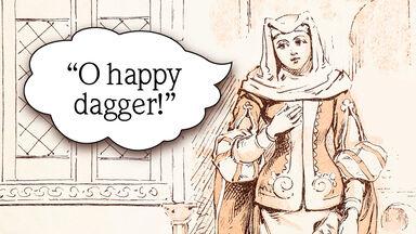o happy dagger Juliet quote