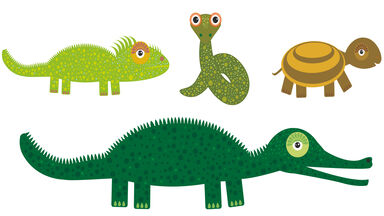 Examples of reptiles