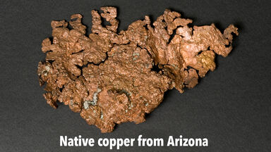 Native copper from Arizona