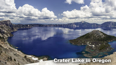 Freshwater Biome Crater Lake Oregon
