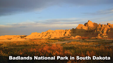 Example Grasslands Biome Badlands National Park
