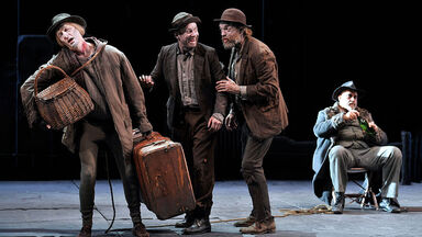 example of farce Waiting for Godot