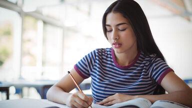 Student writing Insightful Literary Analysis Essay