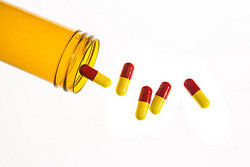 Prescription bottle of pills as examples of barbiturate