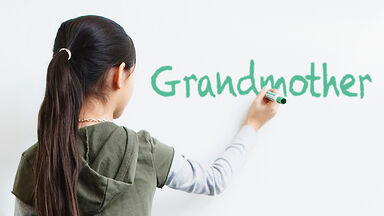 Writing compound word Grandmother