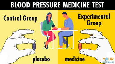 control group example for blood pressure test