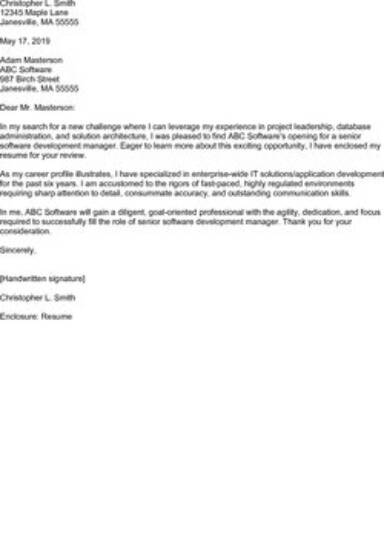 Examples Of Cover Letters Free Template And Easy Tips