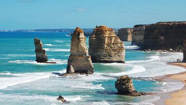 examples of erosion of rocks in Australia
