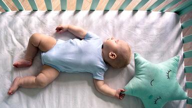 example of habituation of baby sleeping through noise