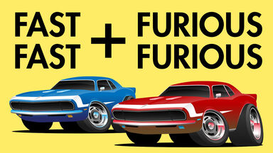 2 fast 2 furious rebus puzzle for kids
