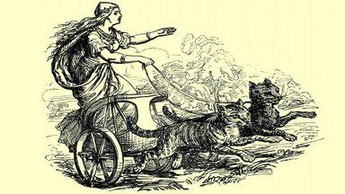 Freya, Norse goddess of love