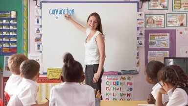 teacher conjunction lesson plan class