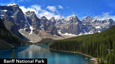landform Banff National Park