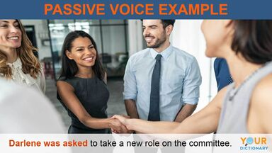 when to use passive voice example