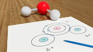 properties of water molecule