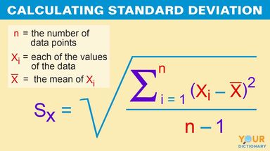 calculating standard deviation example