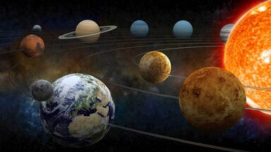 planets orbiting the solar system